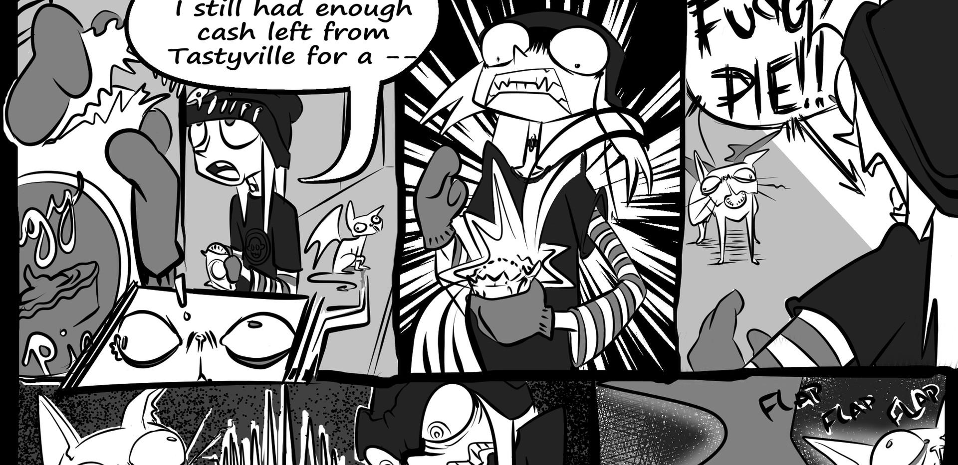 Megan St. Frank - Guest Comic