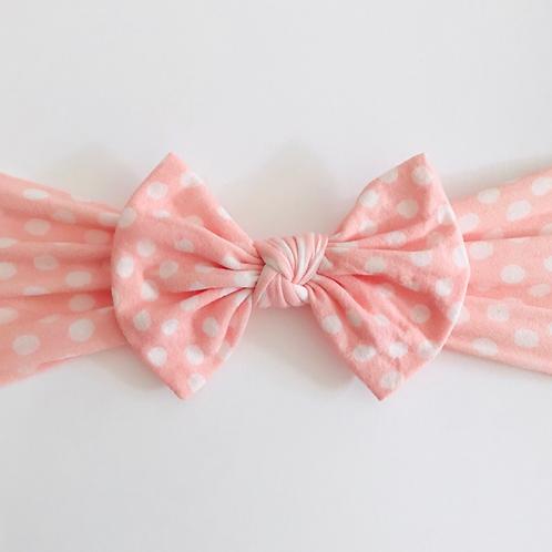 Pink Polka Knot