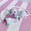 Thumbnail: Petite Pink Floral Bow
