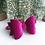 Thumbnail: Pink Nutcracker Velvet Bow