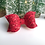 Thumbnail: Red Lace Sparkle Bow