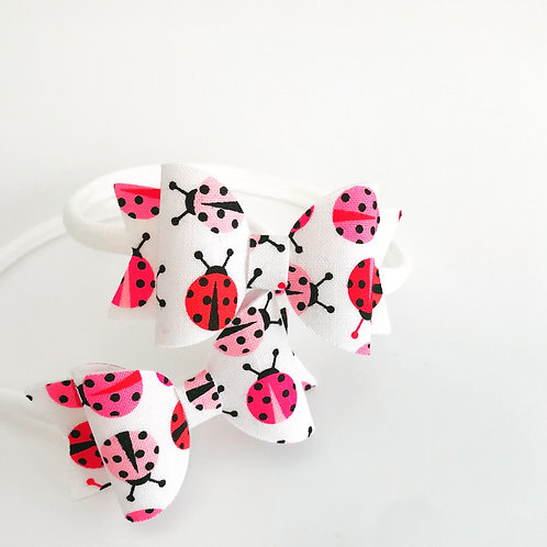 Little Lady Bug Bow