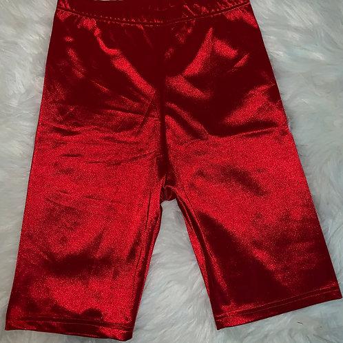 """Ruby"" Biker Shorts"