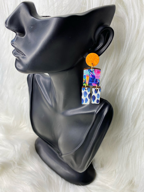 """supa dupa fly"" earrings"
