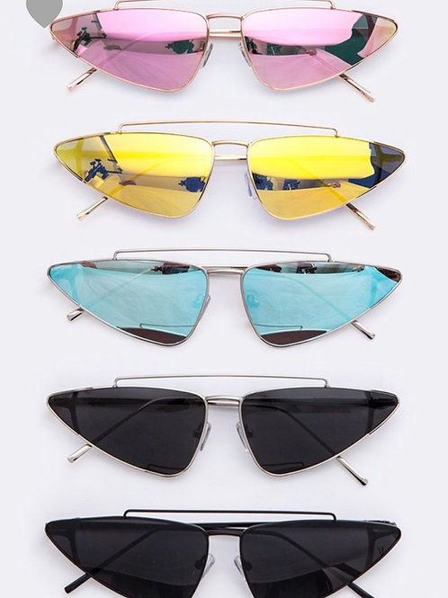 """snob is life"" sunglasses"