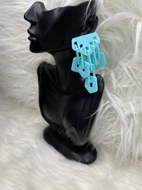 """waterfall"" earrings"