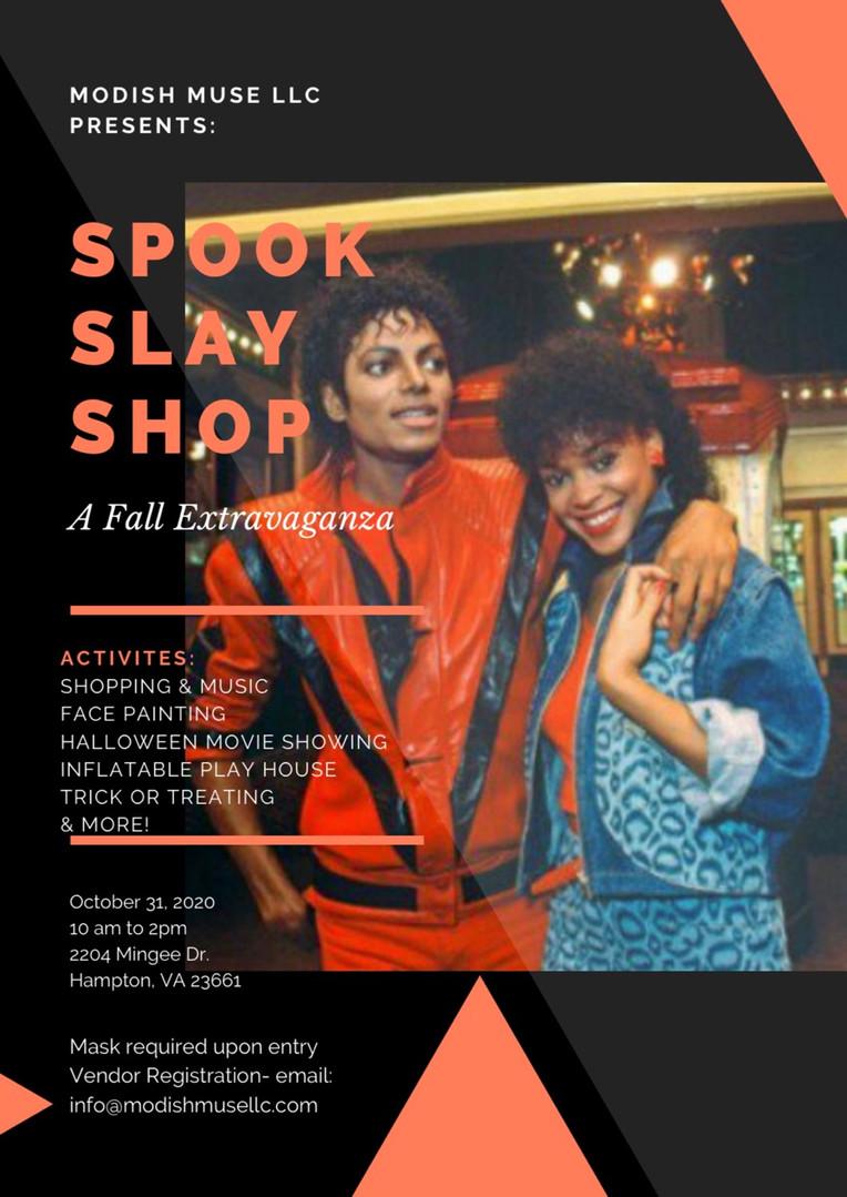 SPOOK SHOP SLAY extravaganza