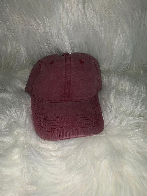 """Red Dad hat"""