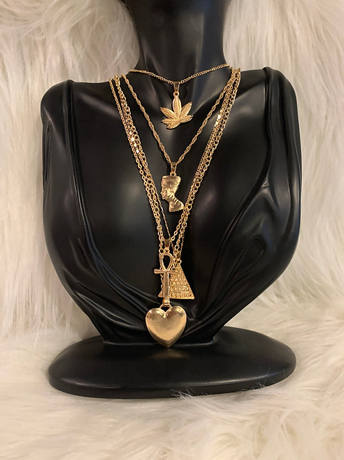 """""""An Ode to 757."""" necklace"""