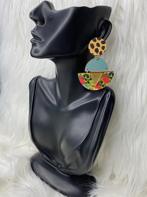 """""""'round the way girl"""" earrings"""