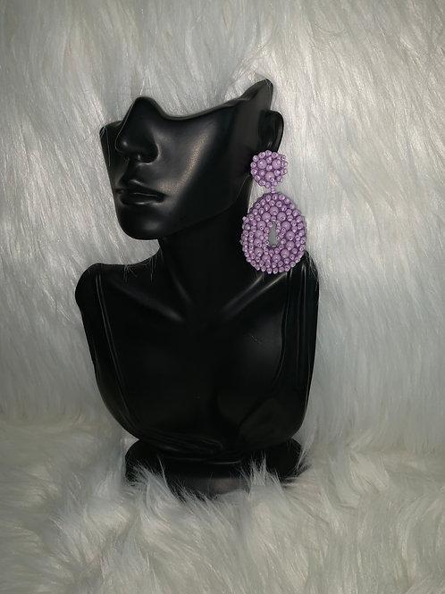 """""""Purple Rain"""" Earrings"""
