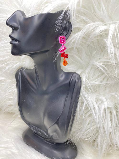 """""""trippy"""" earrings"""