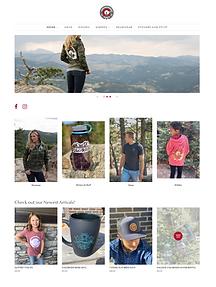 Rocky Mountain Love Shopify Website