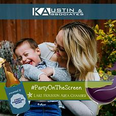 #PartyOnTheScreen