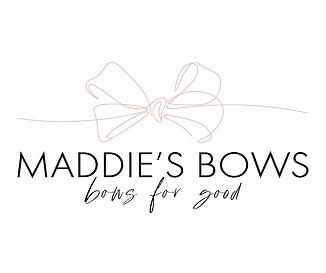 maddies bows bows for good logo