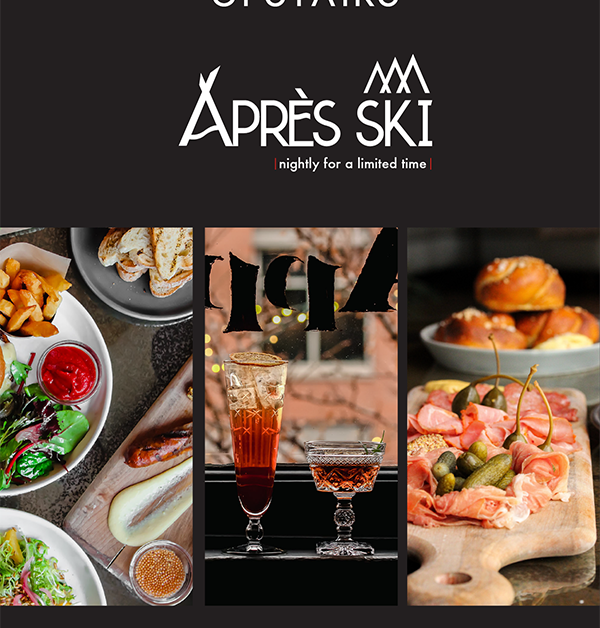 Upstairs Aprés Ski Menu