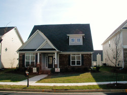 Traditional cottages add to the look and feel of the neighborhood