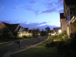 Our beautiful community twinkles in the night