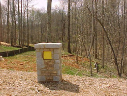 Apalachee Heritage Trail Marker