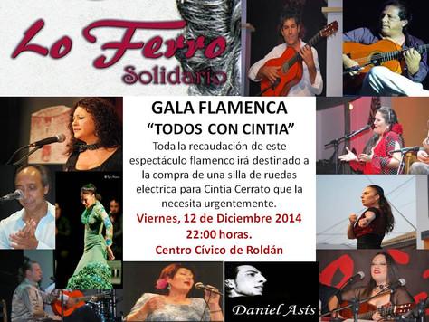 """Gala Flamenca Solidaria """"Todos con Cintia"""""""