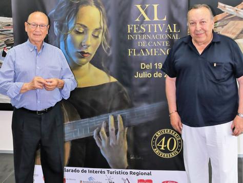 Dos leyendas del flamenco alumbran a Lo Ferro