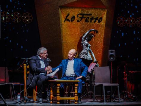 """Grandeza, corazón y humildad en el pregón del  maestro """"Fosforito"""" en el XL Festival de Lo Ferro"""