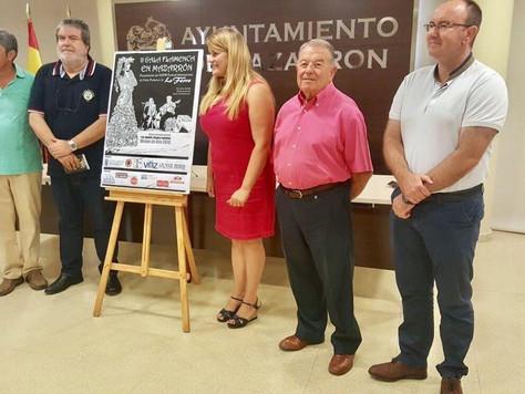 """Lo Ferro presenta su 38º festival en la  """"Gala Flamenca de Mazarrón"""""""