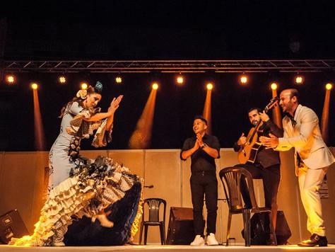 Mazarrón se impregna de arte flamenco en la presentación del Festival de Lo Ferro