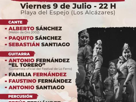 """""""Los Alcázares se pone flamenca con la presentación del Festival de Lo Ferro"""""""
