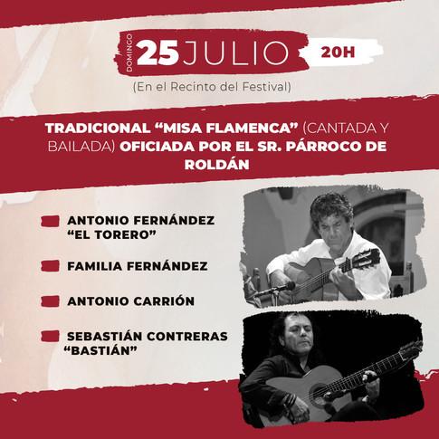 DOMINGO 25 JULIO Entrada Libre