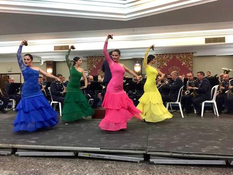 El flamenco de Lo Ferro  abre los XXII Juegos Inter Academias Militares en San Javier