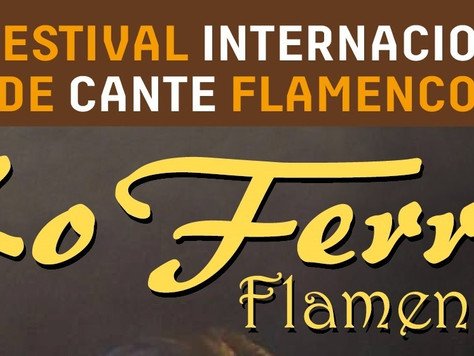 A la venta las entradas del XL Festival Internacional de Cante Flamenco de Lo Ferro