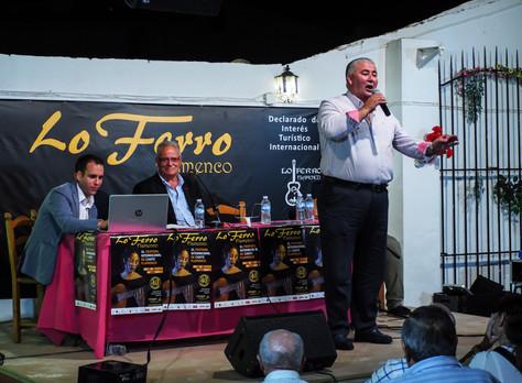 """Sebastián Escudero y """"El Patiñero"""" presentes en la noche de flamenco y trovo"""