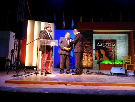 Paco Cepero Medalla de Oro del Festival de Lo Ferro