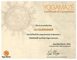 Yoga Maze Certified Teacher