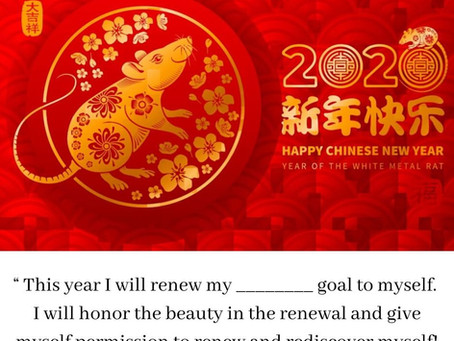 Happy Chinese New Year - Year of the White Metal Rat