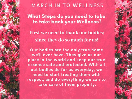 March In To Wellness