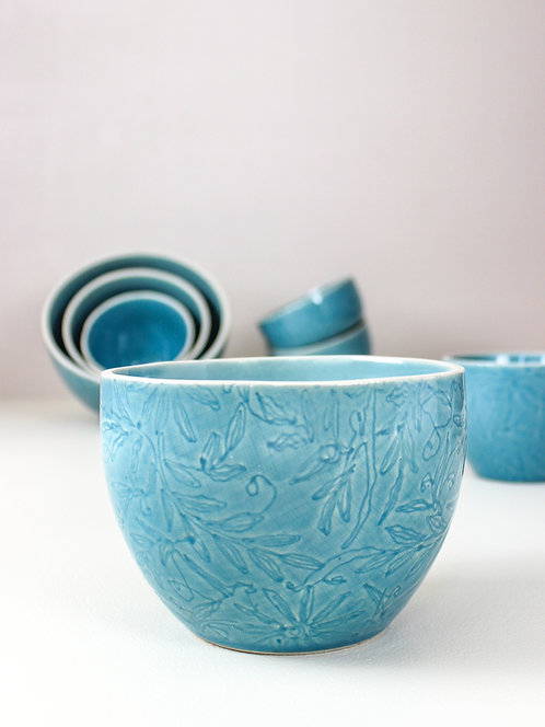 Vastra Double Portion Bowl - Blue