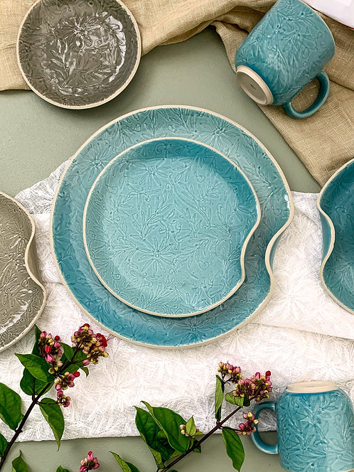 Vastra Large Platter - Blue