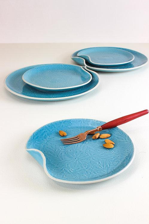 Vastra Medium Platter - Blue