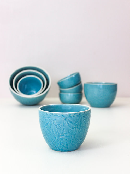 Vastra Single Portion Bowl - Blue