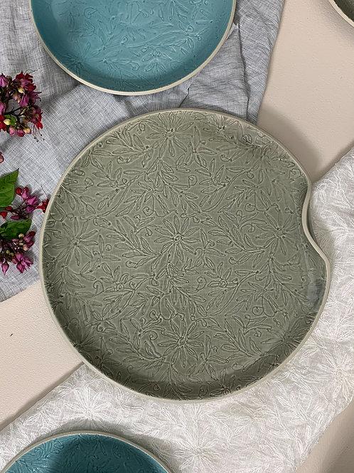 Vastra Large Platter - Grey