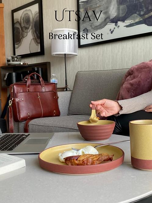 Gift Box: Breakfast Set, Sunshine Mustard