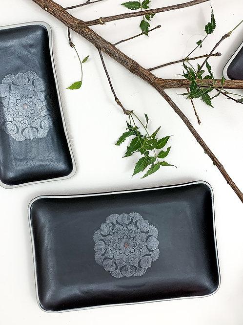 Mandala Rectangle Platter - Medium