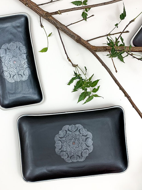 Măndăla Rectangle Platter - Medium