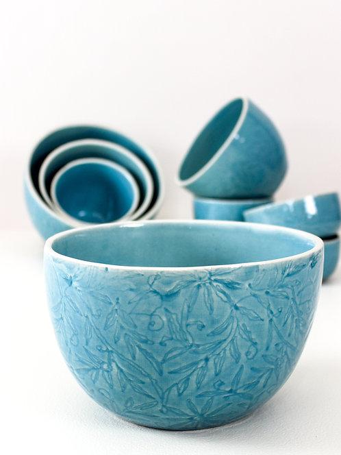Vastra Family Sharing Bowl - Blue