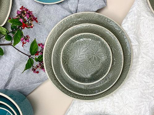 Văstra Dinner Plate- Grey