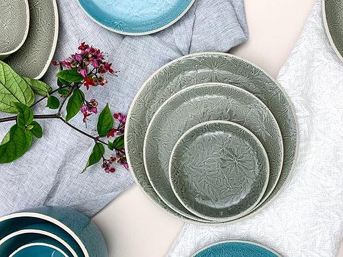 Vastra Side Plate - Grey