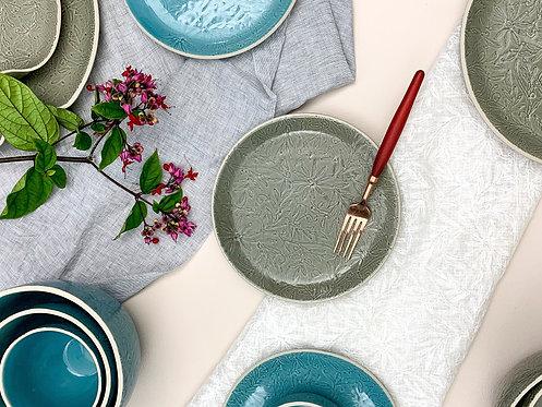Vastra Breakfast Plate- Grey