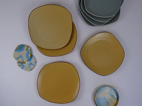 Organic Polygon Platters